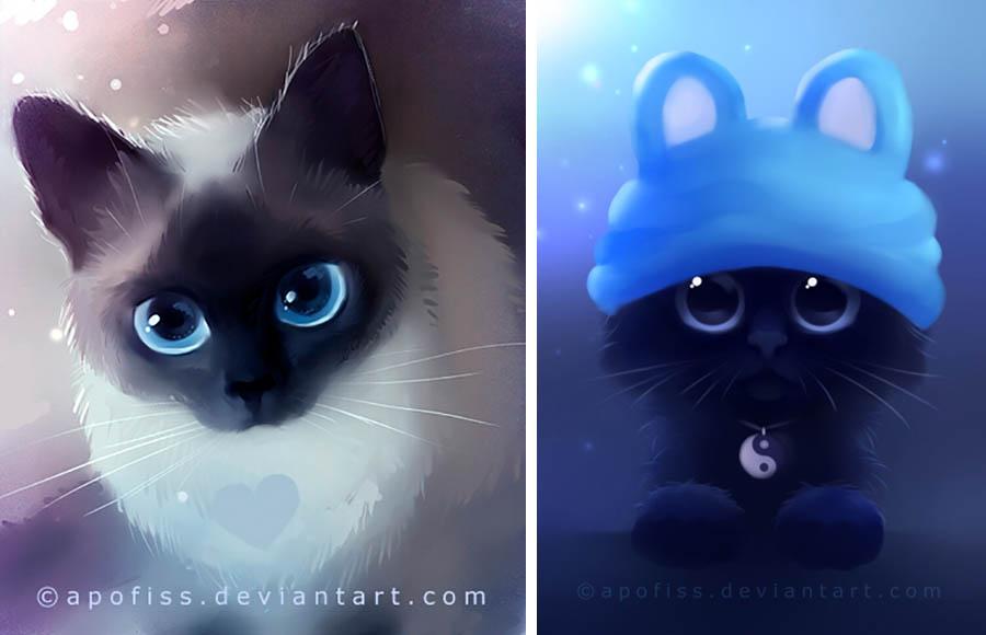 кошки картинки на аватарку